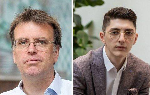 SJOKKERT: FNBs Bjørn Revil og Høyres Mehmet Kaan Inan er sjokkert over Ammerud-varslene.