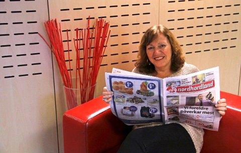 RIKSAVIS: I tillegg til avisa Nordhordland, får no våre abonnentar tilgang på ei riksavis som kjem på nett seks dagar i veka.