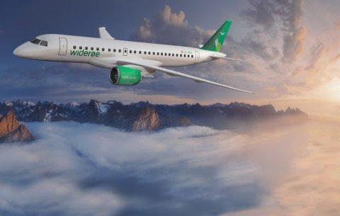 Embraer E190-E2 skal stasjoneres på Torp og i Bergen.