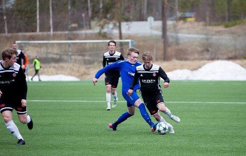 Vinger tok poeng hjemme mot Junkeren 2, som her mot Nordstranda.