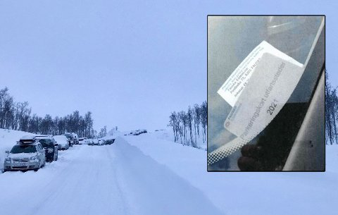 Fauske kommune mener at parkeringskortet er forfalsket. Nå har de anmeldt saken. Foto: Vibeke Madsen/Fauske kommune