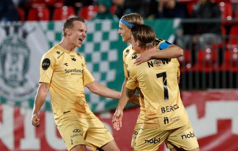 Ulrik Saltnes har scoret fire mål så langt denne sesongen i Europa for Glimt. De to scoringene borte mot Zalgiris Vilnius var i aller høyeste grad med på å bidra til at Glimt nådde gruppespillet i Conference League denne høsten.