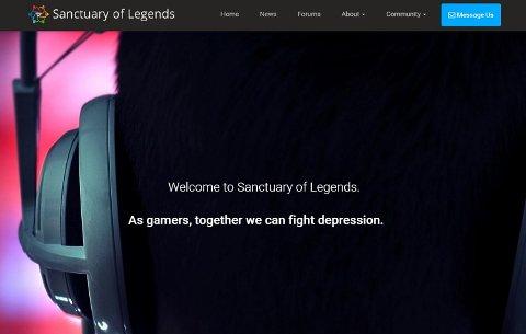Slik ser websiden til Martin Træen Remen ut.