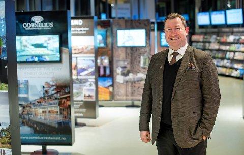 Reiselivsdirektør Anders Nyland i Bergen Reiselivslag.