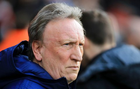 Cardiff City manager Neil Warnock ahead of the English Premier League soccer match between Southampton and Cardiff City at St Mary's Stadium, Southampton, England, Saturday Feb. 9, 2019. (Mark Kerton/PA via AP)