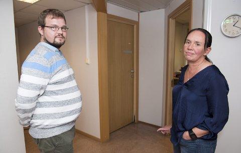 Verneombud i hjemmesykepleier i Ytre Sandviken Mari-Janne Remme og etatshovedverneombud                                Tor Erik Narheim Gille sier at de har vært i dialog med ansatte og ledere i etaten for å forsøke å bedre forholdene.