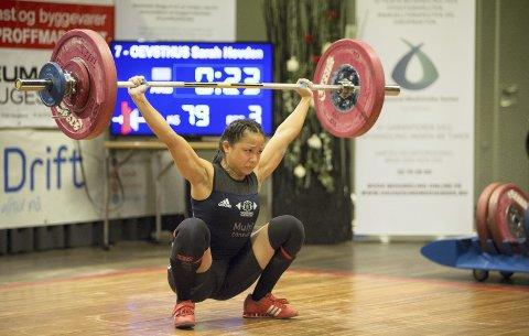 Sarah Hovden Øvsthus har deltatt i flere internasjonale mesterskap de siste årene, men i søndagens EM-konkurranse er ambisjonsnivået økt betydelig.