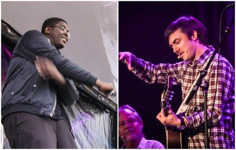 HOLDER KONSERTER: Rapperen Hkeem (til venstre) og visesangeren Tønes skal begge spille konserter under folkefesten i Egersund fredag 29. oktober.