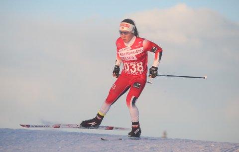 INGEN FORSKJELL: Helene Marie Fossesholm fra Eiker SK gir det hun kan uansett om det er norgescup, NM eller en internasjonal konkurranse.