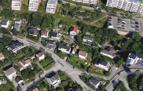 Vil bygge nytt: Fagerliveien Utvikling AS har planer om å erstatte elleve hus i Fagerliveien med 90 nye boenheter.