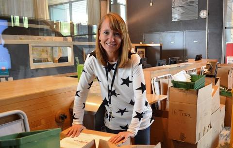Beklager: Ingrid Trømborg, kommunikasjonssjef i Fredrikstad kommune, beklager feilen som er gjort.