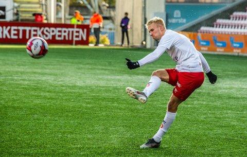 I TENKEBOKSEN: Joona Veteli vet ikke hvor han spiller fotball neste sesong.