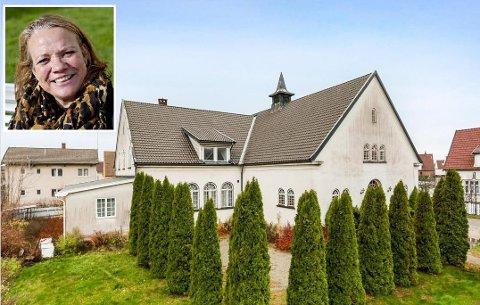 FLERE FORSLAG: Camilla Eidsvold (SV) har flere forslag til de nye eierne av Seiersten misjonshus på hvordan de kan innlemme allmennheten i lokalmiljøet. Hun håper huset innimellom blir et møtested for alle.