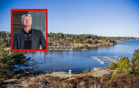 BLI HJEMME: Dag Willien Eriksen håper hytteturistene holder seg hjemme til Koronaviruset har forsvunnet.