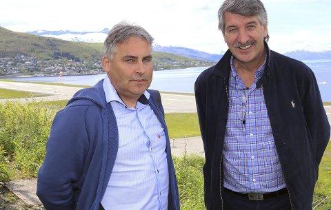 LYKTES – DELVIS: Kenneth Svendsen og Torgeir Trældal (t.v.).