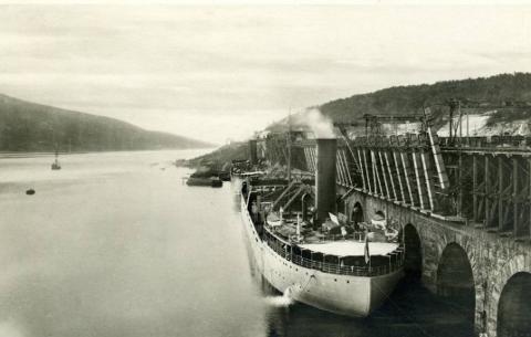 Nærmest: Norrbotten og foran henne Malmberget.