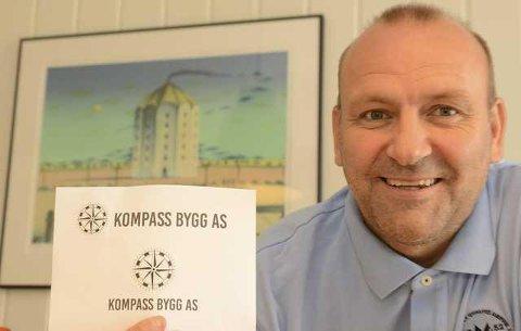 BYGGER: Erik Holtet og Kompass Bygg AS får utbyggingen av Kroken Hageby i Våler.
