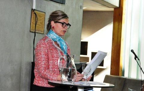 - Det er helt typisk, at det må komme noen utenfra for å vise oss Sigrid Undsets storhet, sa foredragsholder Kristin Brantsegg Johansen.