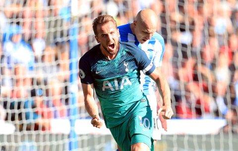 Om lillehamringen som vant en halv million på oddstipping er Tottenham-supporter vites ikke, men han sender sikkert varme tanker til Harry Kane for at han bidro til premien med sine to mål mot Hudderfield i helga.