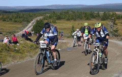BIRKEBEINERRITTET: Nærmere 8.000 syklister skal over fjellvegene  mellom Rena og Lillehammer lørdag. Foto: Birken/Geir Olsen