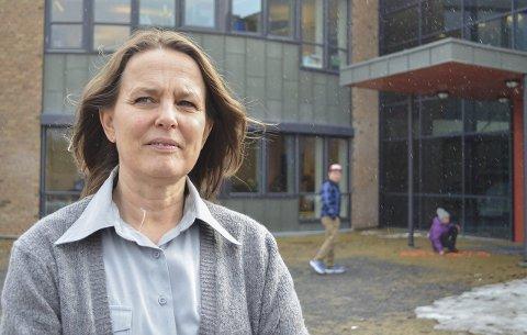DOBBELTROLLE: Rektor Maren Hurum skal dele arbeidstiden sin mellom Trintom og Sanne neste skoleår.