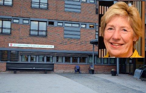 KAN SELGE: Rådmann i Jevnaker kommune, May-Britt Nordli, kan være villig til å selge sykehjemsplasser til Ringerike kommune. Det kan også redde noen av de 15 ansatte som kan bli overtallige.