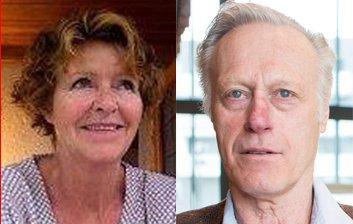 Anne-Elisabeth Falkevik Hagen og Tom Hagen bodde i mange år på Hadeland.