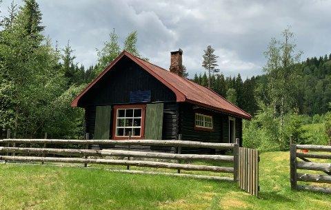 SELGES: Interessen for denne hytta på Gulsjøen har vært enorm på noen få dager.