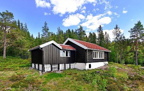 UNDER EN MILLION: En av fem hytter i Gran og Lunner som nå ligger ute for under en million kroner i prisantydning.