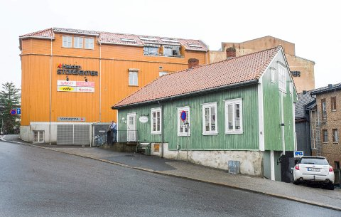 TRAVELT: De frivillige på Det grønne hus i Urtegata får mange henvendelser på nyåret fra folk som trenger litt ekstra mat.