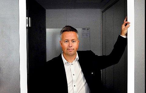 I VEKST: Administrerende direktør Jon Julsen forteller at Sarpsborg-bedriften Afry er i stor vekst.
