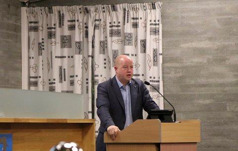 FLERE LØSNINGER: Ola S. Apeland (H) fortalte at situasjonen rundt den interkommunale legevakten har endret seg for Tysær sin del.