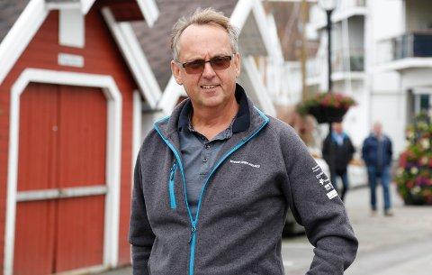 INGEN GOD MAGEFØLELSE: - Skal vi være helt ærlig så skal det mye til for at det blir festival i år, sier Olav Torkelsen, festivalsjef for Skudefestivalen.