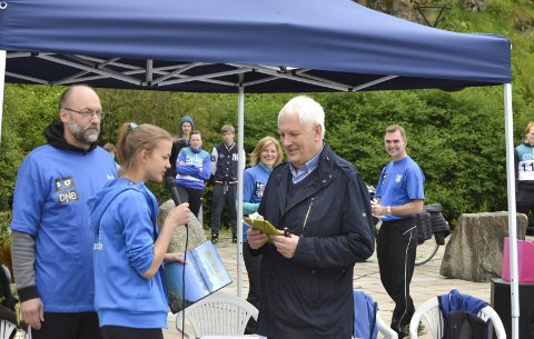 I fjor: Brobyggerstafetten ble arrangert for første gang sommeren 2015.