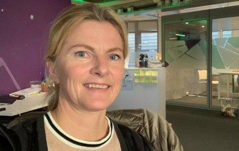 IMPONERT: - Innsatsen fra alle ansatte og resten av Helse Nord under de siste dramatiske ukene, viser det norske helsevesenet på sitt beste, sier Lena Nymo Helli.