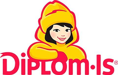 Her er den nye logoen til Diplom-Is. Foto: Diplom-IS