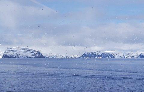 VINTERTEMPERATUR: I enkelte deler av Finnmark kan temperaturen falle ned til -10 grader i løpet av uka.