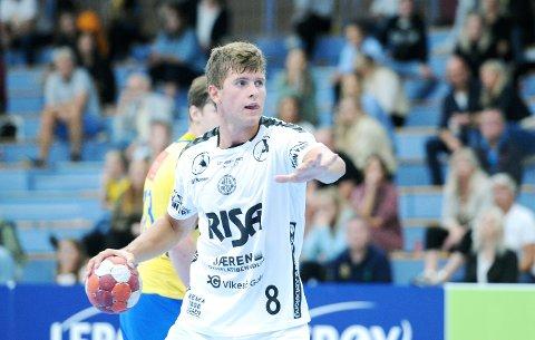 BORTESEIER: Andreas Horst Haugseng bidro sterkt til at Nærbø snudde kampen i andre omgang.