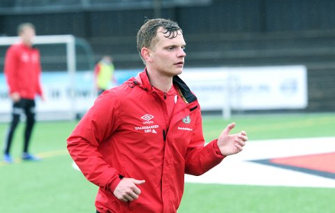 STARTER: Meinhard Olsen er Brynes venstreving i serieåpningen mot Aalesunds FK.