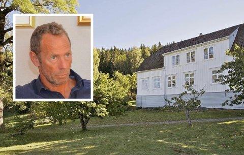 ENORM EIENDOM: Ivar Tollefsen kjøpte hovedgården på Tåtøy Østre med sine 650 mål for 18.1 millioner i 2014.