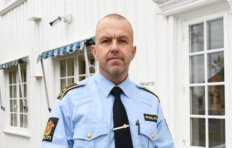 Politioverbetjent Terje Sandik ved Kragerø politistasjon. Arkivfoto: Jeanette Brubakken