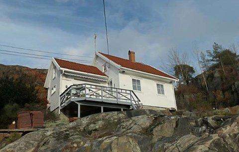 Det er ved denne eiendommen at Tollefsen ønsker å endre fasaden på bygningsmassen.