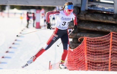 I FORM: Guro Femsteinevik imponerte då ho vann skicrossen og blei nummer fem i distanserennet i Hovedlandsrennet i langrenn.
