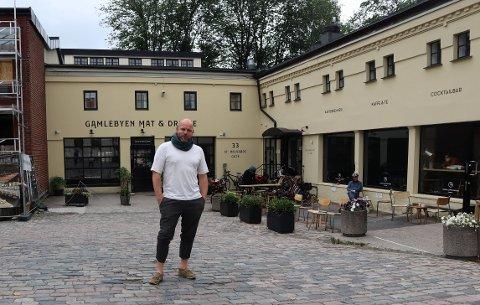 BYENS NYE MØTESTED: I St. Halvards gate 33 vil Einar K. Holthet (37) og byutviklingsselskapet Natural State skape Gamlebyens nye møtested med alt fra kaffe, kontorlokaler og pizza, til yogastudio og festlokaler.