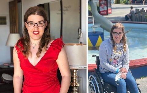 Vil spre kunnskap: Victoria  Lagerqvist Pederssen fra Lier forteller at hun fort blir nervøs og ukomfortabel i sosiale sammenhenger. Hun håper og tror at økt kunnskap om CP skal gjøre det enklere for henne og andre med diagnosen.