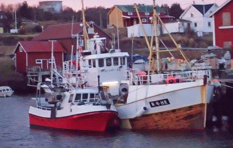 KANTRET: Den 28 fot store sjarken «Stortinn Jr» kantret og sank utenfor Røst. Arkivfoto