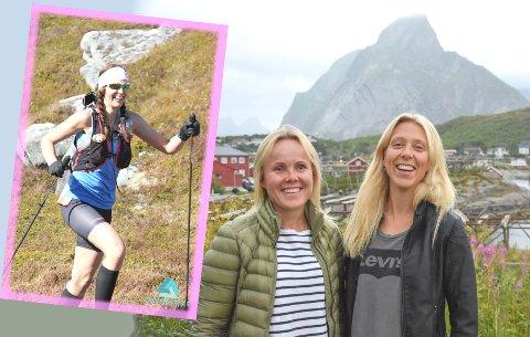 Monika Kransvik (innfelt),  Wenche Olsen og Lena-Britt Johansen.