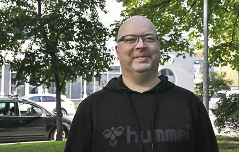 Leder: Roger Olsen i Vågan Frivilligsentral.