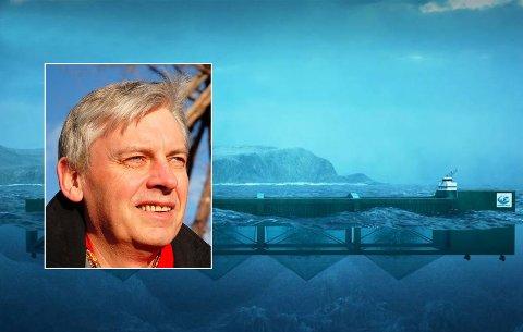 Rolf Steffensen har takket ja til å lede foreningen som vil stanse planene om den gigantiske havfarmen i Hamarøy. Foto/illustrasjon: Øyvind A. Olsen/Nordlaks