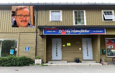 Jim Olaisen undrer på hva som skal skje med disse lokalene.